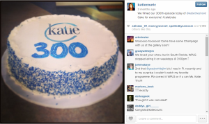300th episode cake