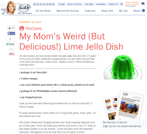 Jello recipe