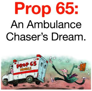 Prop 65 bus ad
