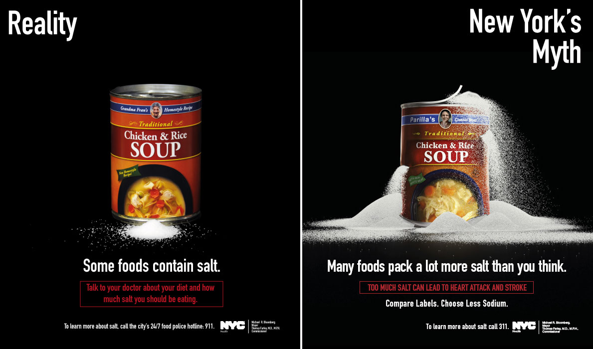 New York City Passes The Salt With Another Ad Campaign Center For